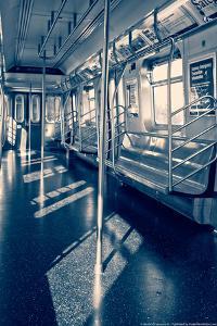 Empty Subway Car NYC