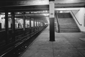 Empty Subway Station at 181st Street