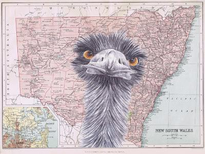 Emu-Jane Wilson-Giclee Print