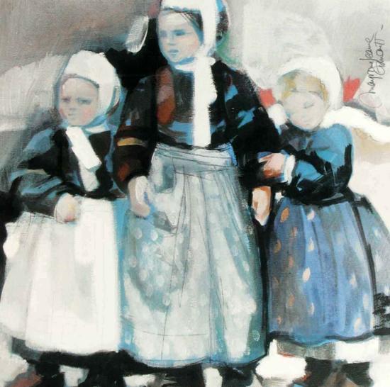 En Attendant-Maryvonne Jeanne-Garrault-Art Print