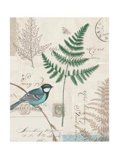 En Bleu I-Katie Pertiet-Art Print