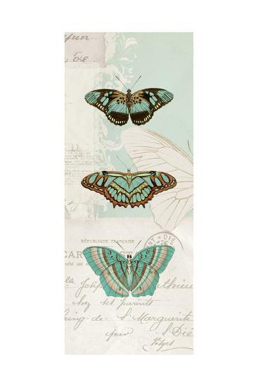 En Bleu X-Katie Pertiet-Art Print