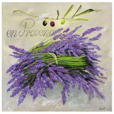 En Provence Lavande-Lizie-Art Print