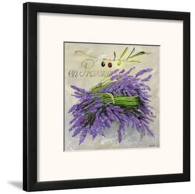 En Provence Lavande-Lizie-Framed Art Print
