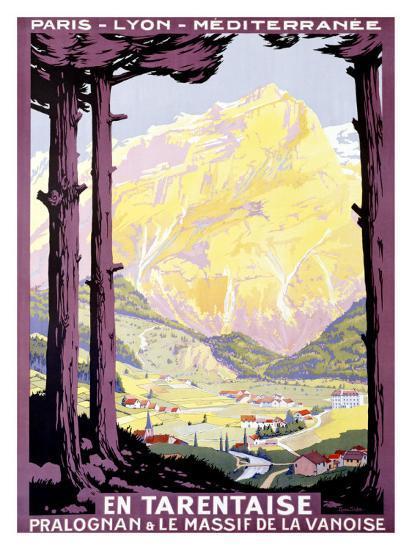 En Tartentaise-Roger Soubie-Giclee Print