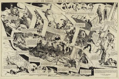 En Voyage, Sur Le Paquebot--Giclee Print