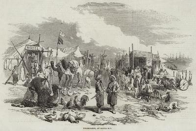 Encampment, at Besika Bay--Giclee Print