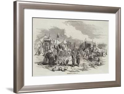 Encampment, at Besika Bay--Framed Giclee Print