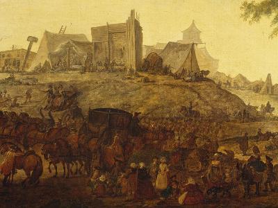 Encampment Near Saint Omer-Jacques-Andre-Joseph Aved-Giclee Print