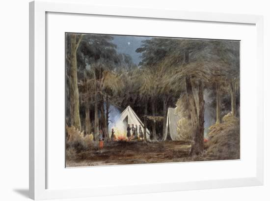 Encampment of Duryea's Zouaves, Virginia, 1862-William the Younger MacIlvaine-Framed Giclee Print