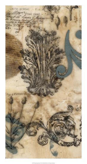 Encaustic Ephemera II-Jennifer Goldberger-Giclee Print