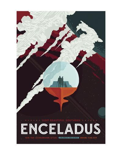 Enceladus-Vintage Reproduction-Art Print