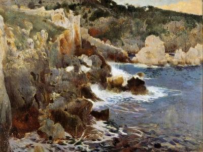 Enchanted Cove, Majorca, c.1901-Joaquin Mir Trinxet-Giclee Print
