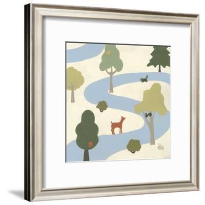 Enchanted Forest I-Erica J. Vess-Framed Art Print