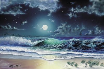 Enchanted Waters-Dann Spider-Giclee Print