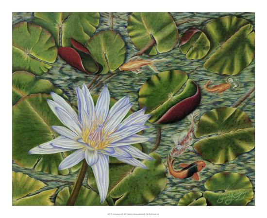 Enchanting Lily-Gloria J^ Callahan-Giclee Print