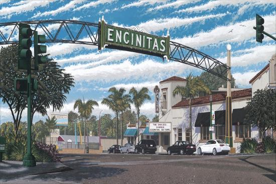 Encinitas-Palmer Artworks-Giclee Print