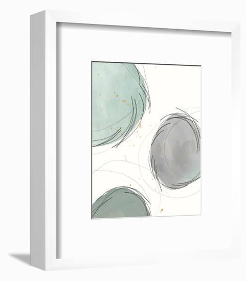 Encircled Orbits I-Regina Moore-Framed Art Print