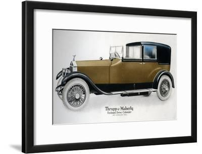 Enclosed Drive Rolls-Royce Cabriolet with Extension Open, C1910-1929