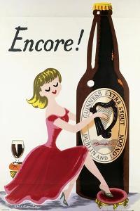 Encore! (Girl, Bottle and Harp), C.1938