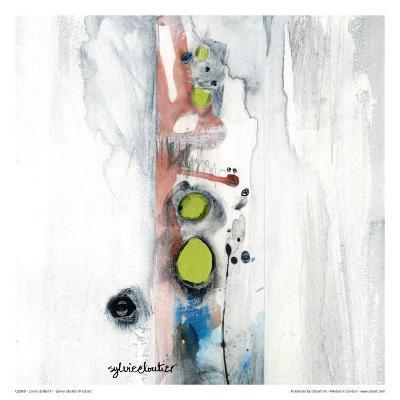 Encré (Détail 1)-Sylvie Cloutier-Art Print