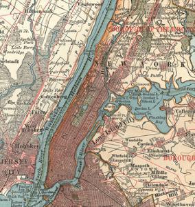 Manhattan (C. 1900) by Encyclopaedia Britannica