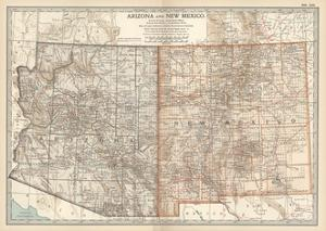 Beautiful Maps of New Mexico artwork for sale, Posters and Prints ...