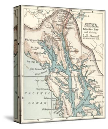 Plate 116. Inset Map of Sitka