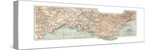 Plate 18. Inset Map of Marseille by Encyclopaedia Britannica