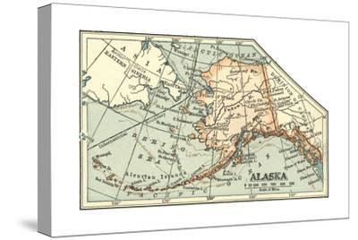Plate 64. Inset Map of Alaska. United States