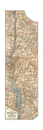 Plate 69. Inset Map of the Hudson River