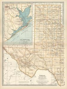 Plate 89. Map of Texas by Encyclopaedia Britannica