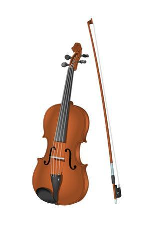 Viola and Bow, Stringed Instrument, Musical Instrument by Encyclopaedia Britannica