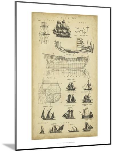 Encyclopediae I-Chambers-Mounted Print