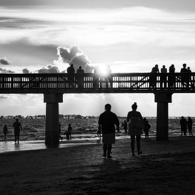 End of Beach Day-Philippe Hugonnard-Photographic Print