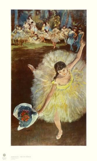 End of the Arabeske-Edgar Degas-Collectable Print