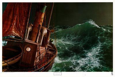 End of the Storm-Loren D^ Adams Jr^-Art Print