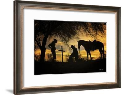 End of the Trail-Barry Hart-Framed Art Print