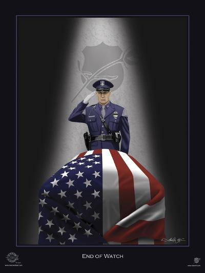 End of Watch-Marc Wolfe-Giclee Print