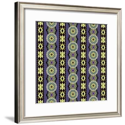 Endeavour Stripe I-Katia Hoffman-Framed Art Print