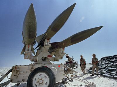 U.S. Hawk Anti-Air Craft Missiles