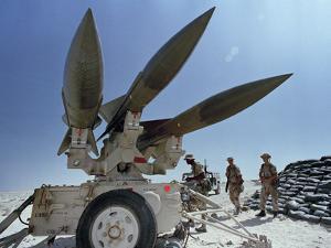 U.S. Hawk Anti-Air Craft Missiles by Endicher