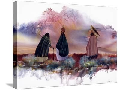 Ending the Day-Mary Schaefer-Stretched Canvas Print