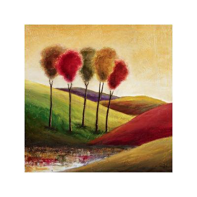 Endless Hills II-Mike Klung-Giclee Print