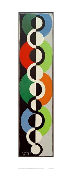 Endless Rhythm, 1934-Robert Delaunay-Giclee Print