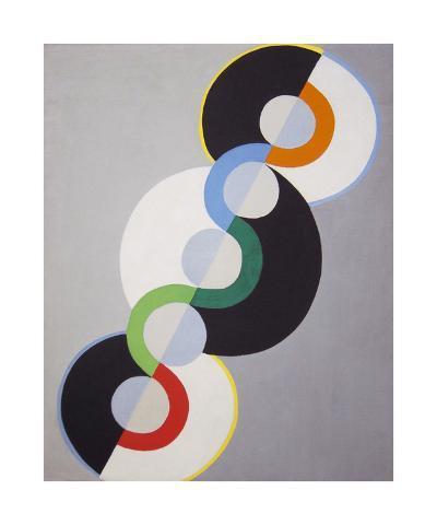 Endless Rhythm, 1934-Robert Delaunay-Premium Giclee Print