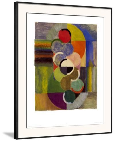 Endless Rhythm, c.1930-Robert Delaunay-Framed Art Print