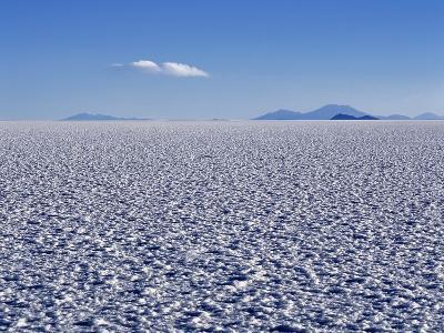 Endless Salt Crust of Salar De Uyuni, Largest Salt Flat in World at over 12, 000 Square Kilometres-John Warburton-lee-Photographic Print