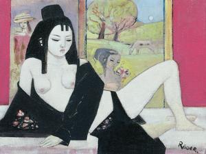 Black Kimono, 2008 by Endre Roder