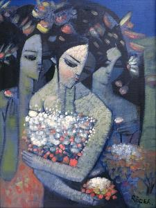 Bouquet of Flowers by Endre Roder